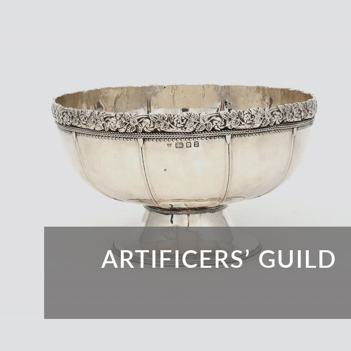 Button to navigate to the Artificer's Guild page