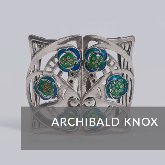Button to navigate to the Archibald Knox page
