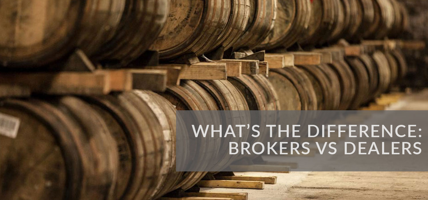 What's the difference: Brokers versus dealers