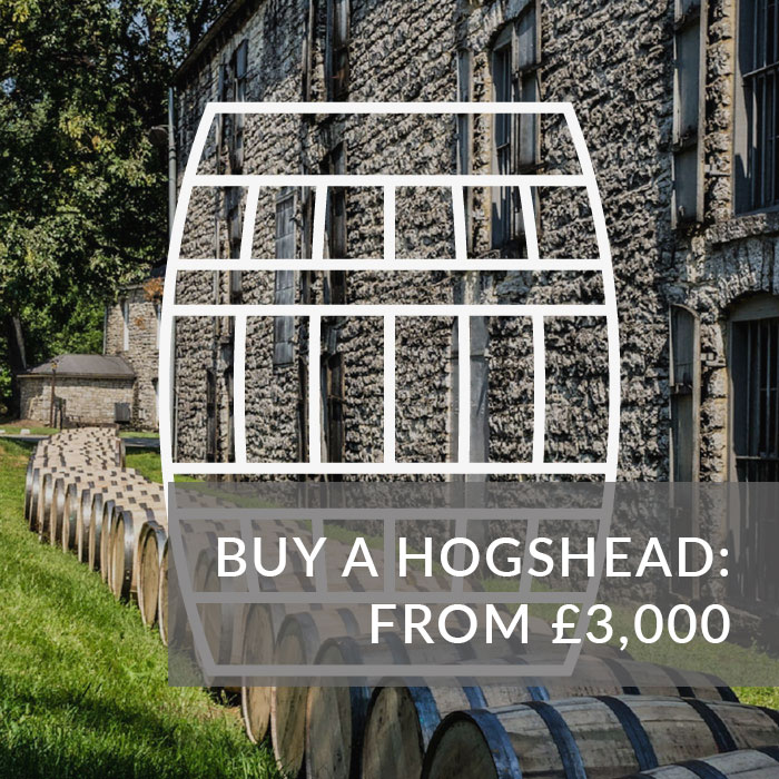 A button to buy a Hogshead from £3,000