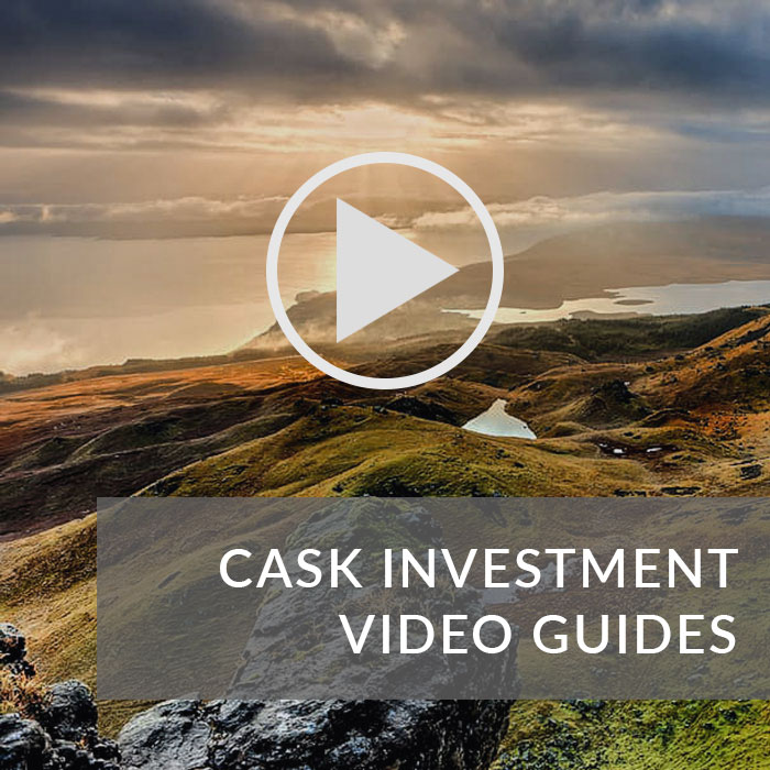 Button navigating to the cask investment video guides