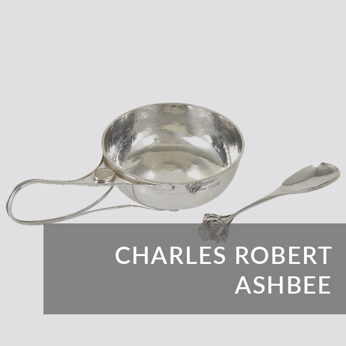 Button to navigate to the Charles Robert Ashbee page