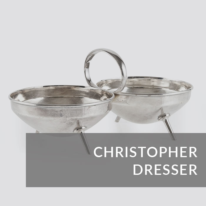 Button to navigate to the Christopher Dresser page