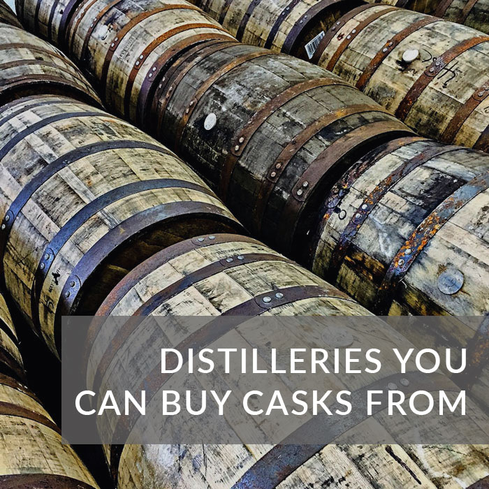 Button to navigate to the Blog about places you can buy a cask from