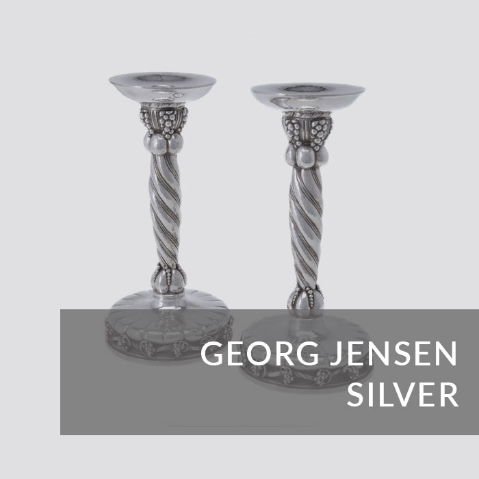 Button to navigate to the George Jensen Silver page
