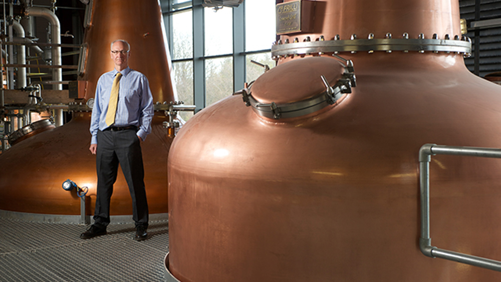 The stills at Inchdairnie distillery