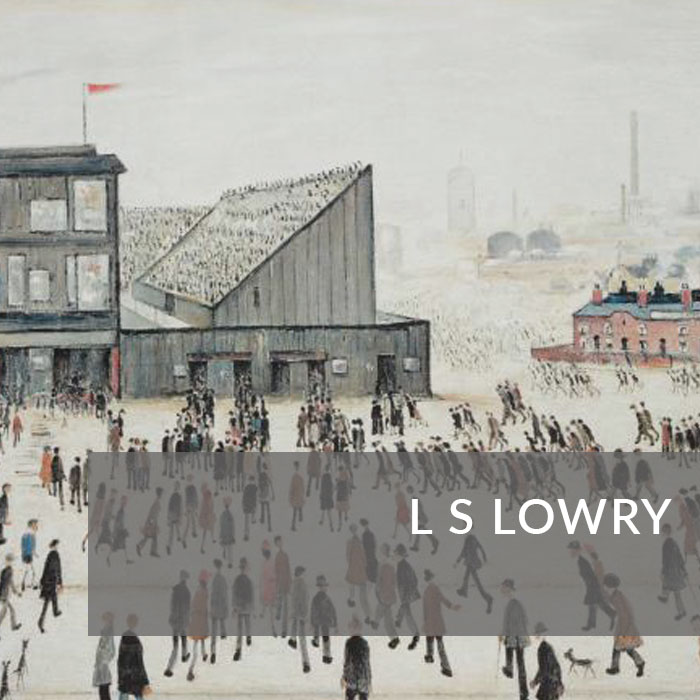 Button to navigate to the LS Lowry page