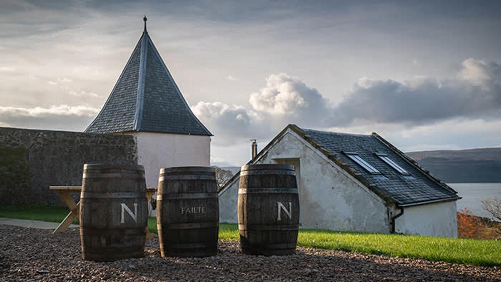 Nc'nean distillery