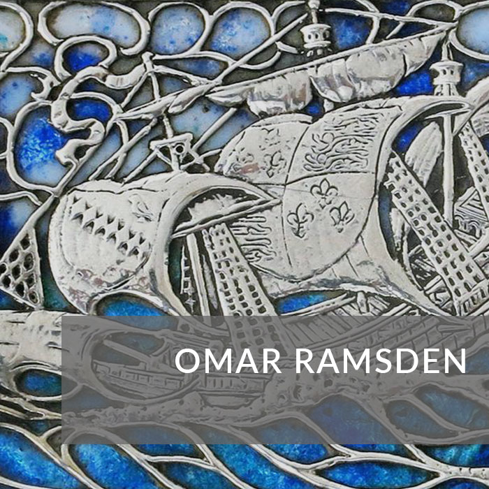 Button to navigate to the Omar Ramsden page
