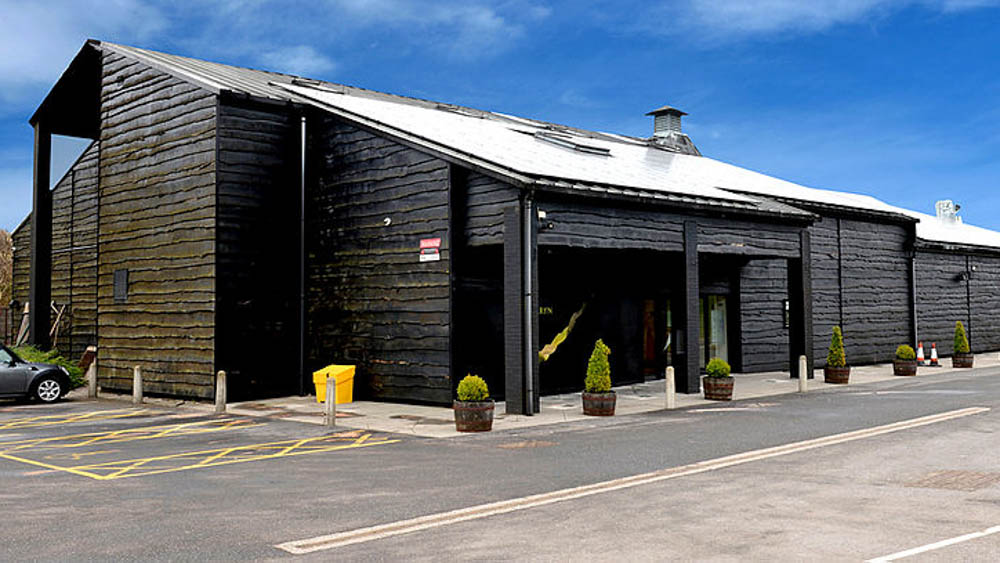 Penderyn Distillery in Wales