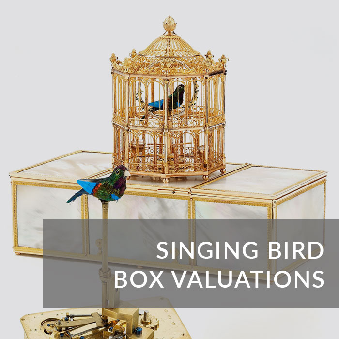 Singing bird box valuations