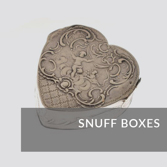 Button to navigate to the snuff boxes page