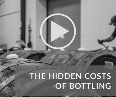 Button navigating to the video guide on the costs of bottling your whisky cask