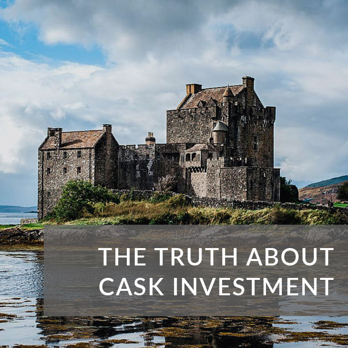 Button to navigate to the Video Guide about 'The Truth About Cask Investment'