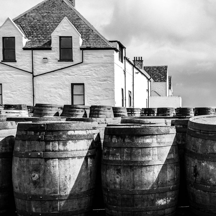 buying casks of whisky