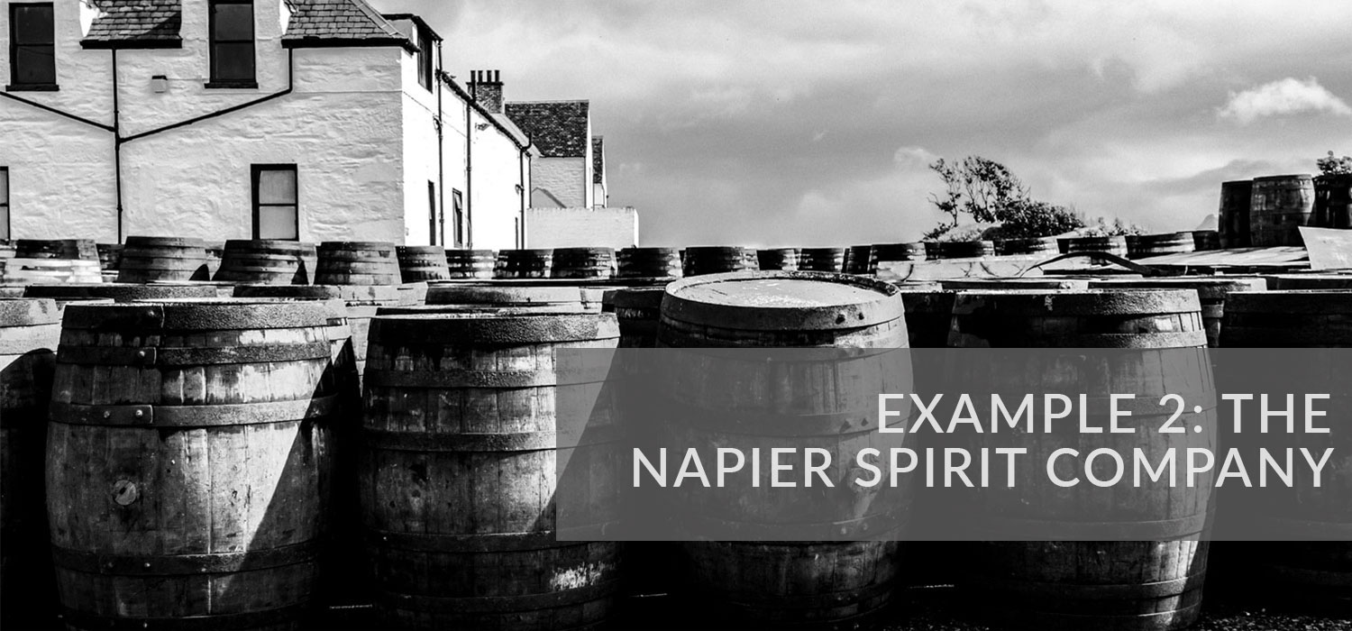 Example 2: The Napier Spirit Company