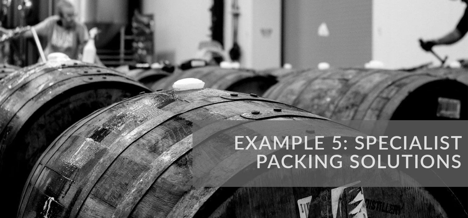 Example 5: Specialist packing solutions