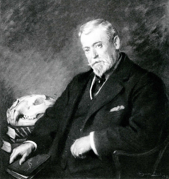 A portrait of Rowland Ward