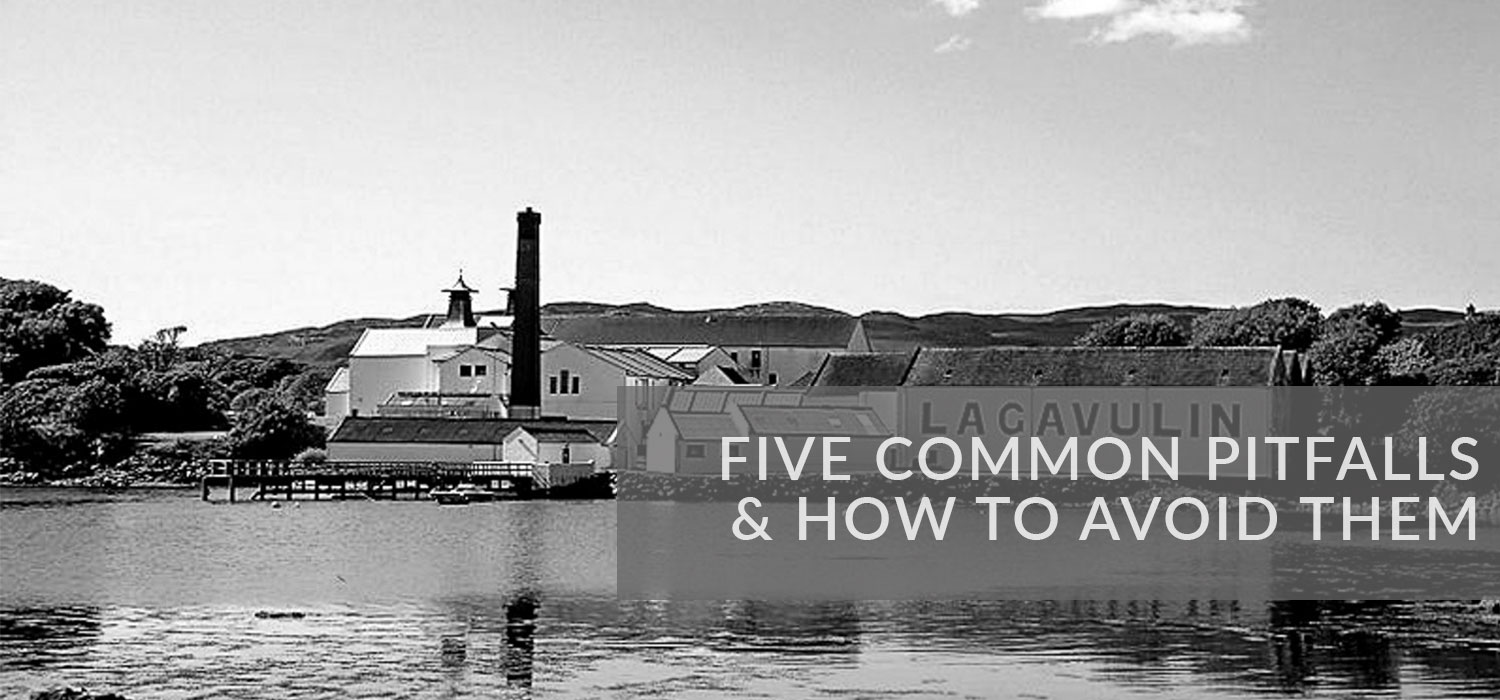 Title image: Five common pitfalls & How to Avoid them