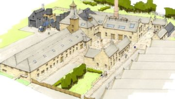 An impression of the Brora distillery