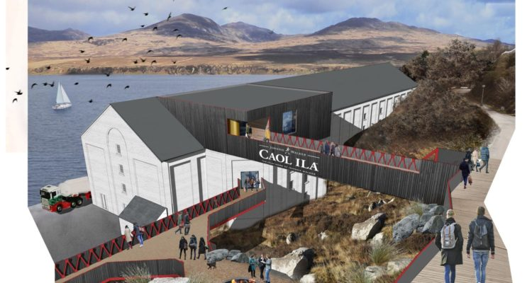 An artist's impression of what Caol Ila will look like.