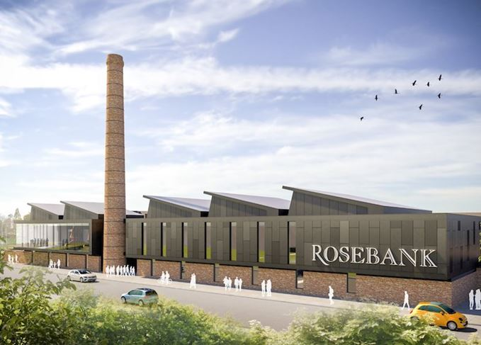 An artist's impression of what Rosebank will look like.