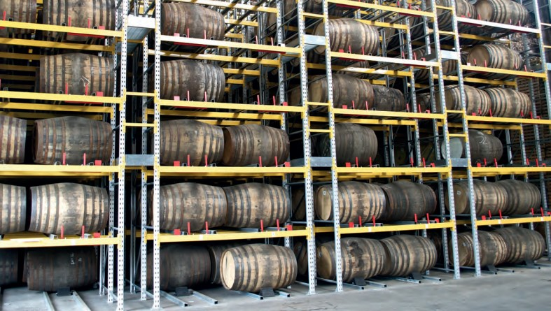 Racked Whisky Warehouse