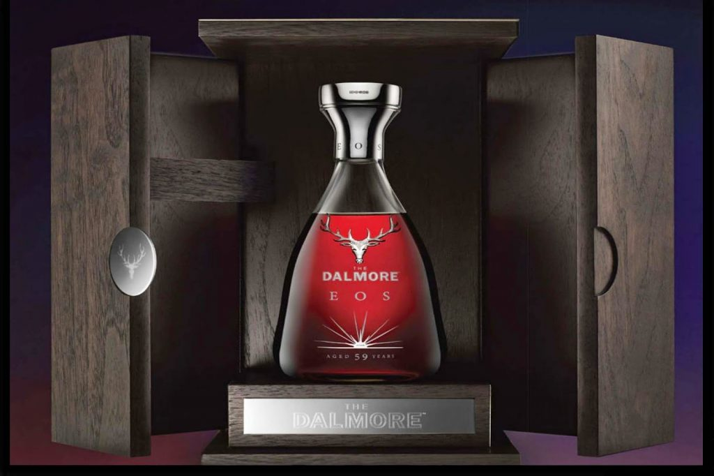 The silver Dalmore stag first started appearing on bottles in 2006.