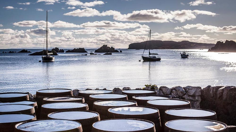 Casks-on-a-Coastline