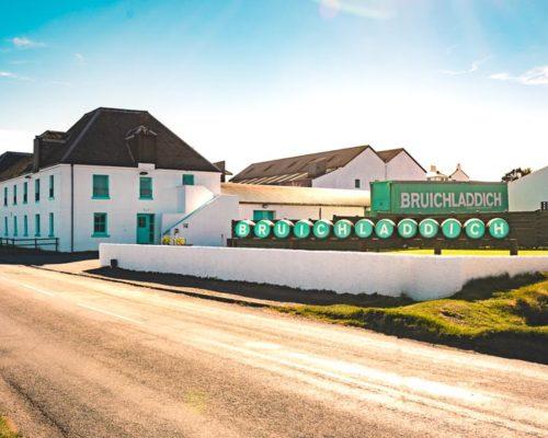 The Bruichladdich distillery