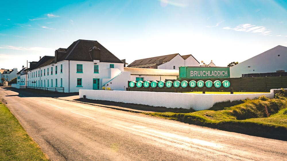 The Bruichladdich distillery