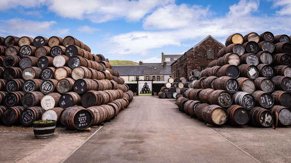What is a cask of whisky worth