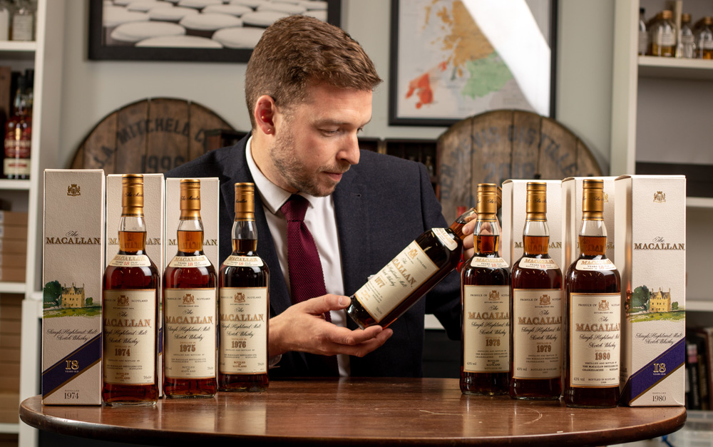 We recently sold a vertical of Macallan 18 year old's for a client for over £40,000.