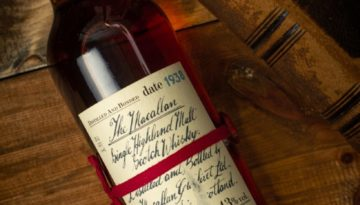 Macallan 1938 handwritten 1