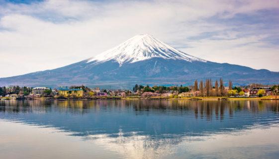 Mt. Fuji on Lake Kawaguchi