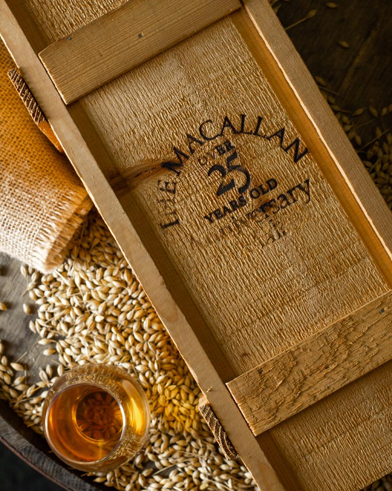 Macallan whisky is considered some of the most luxurious in the world.