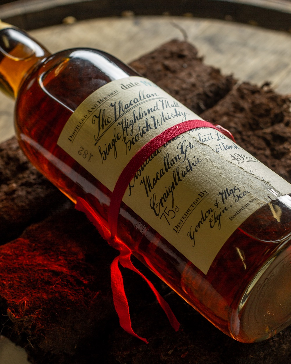 Sell your Macallan Red Ribbon Handwritten Label whisky