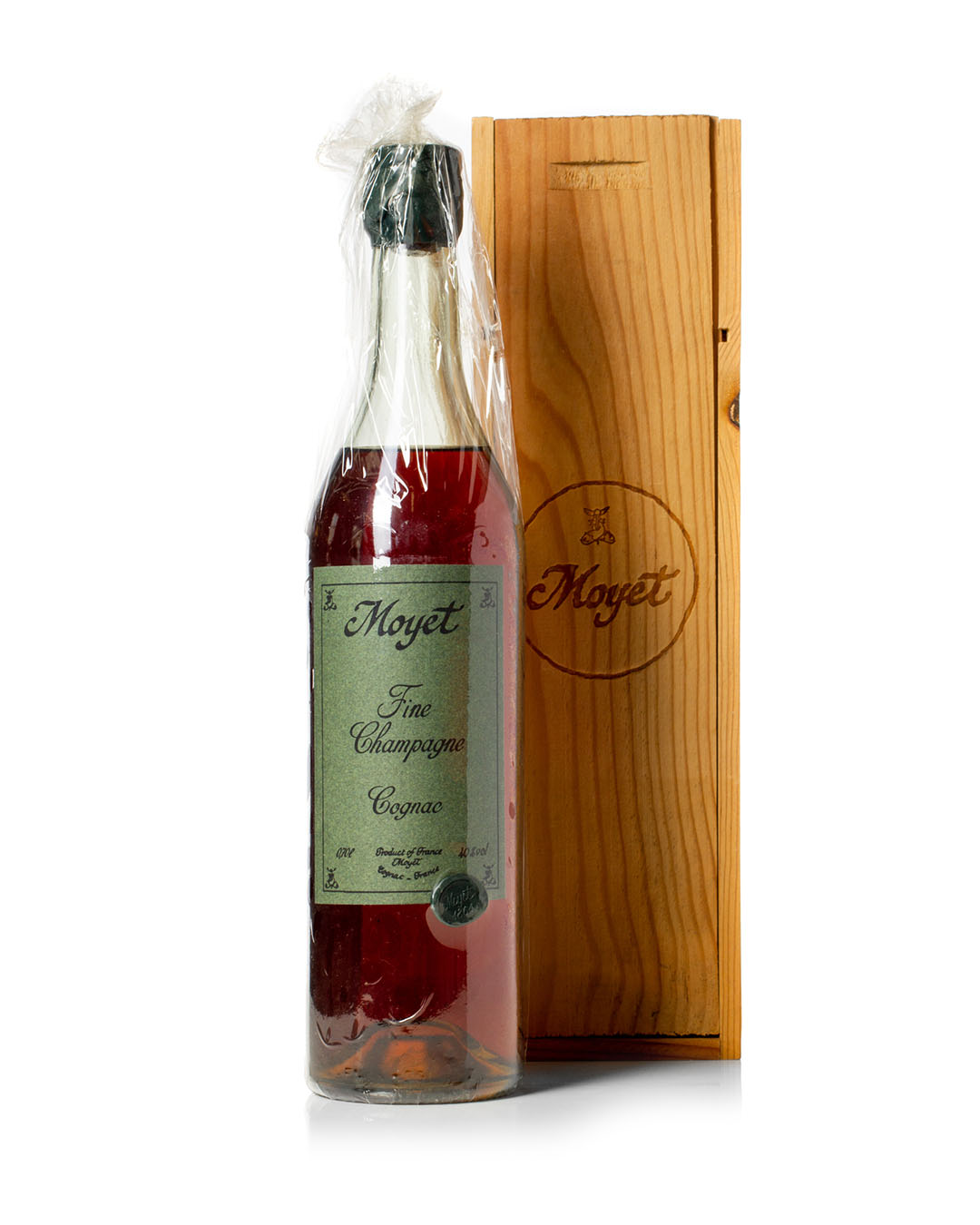 We have this bottle of Moyet 1864 Fine Champagne Cognac available for sale on our online shop.