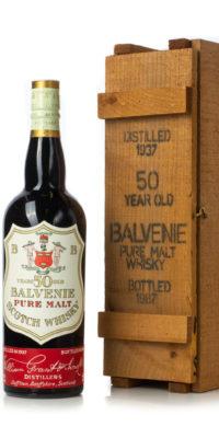Balvenie 1937 50 year old