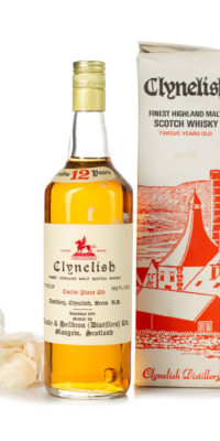Clynelish 12 year old 70 proof Ainslie & Heilbrown