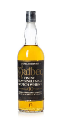 Ardbeg 10 year old 1970s