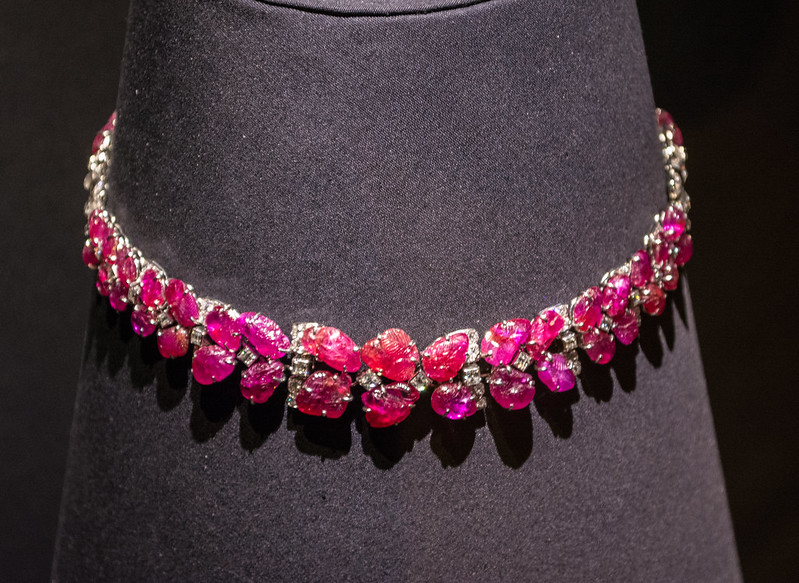 A ruby necklace by Van Cleef & Arpels