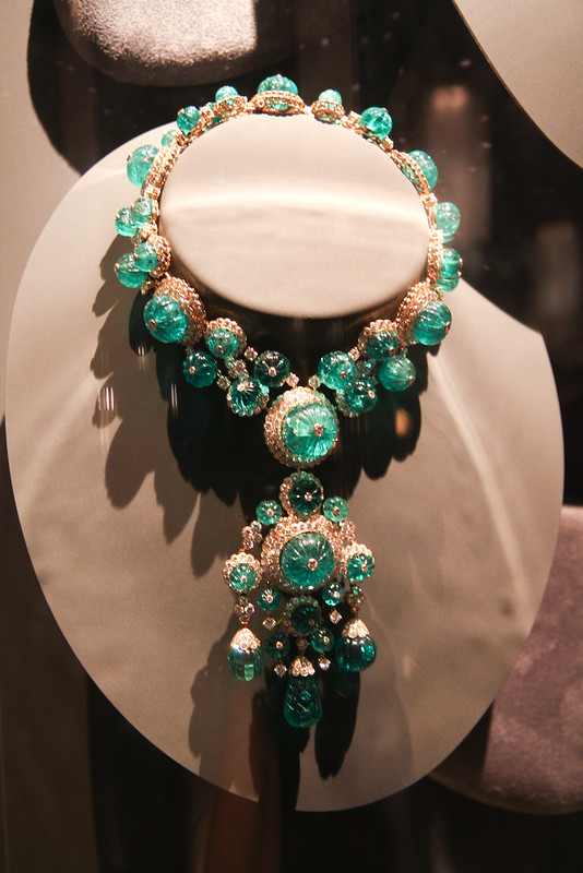 An Emerald necklace by Van Cleef & Arpels