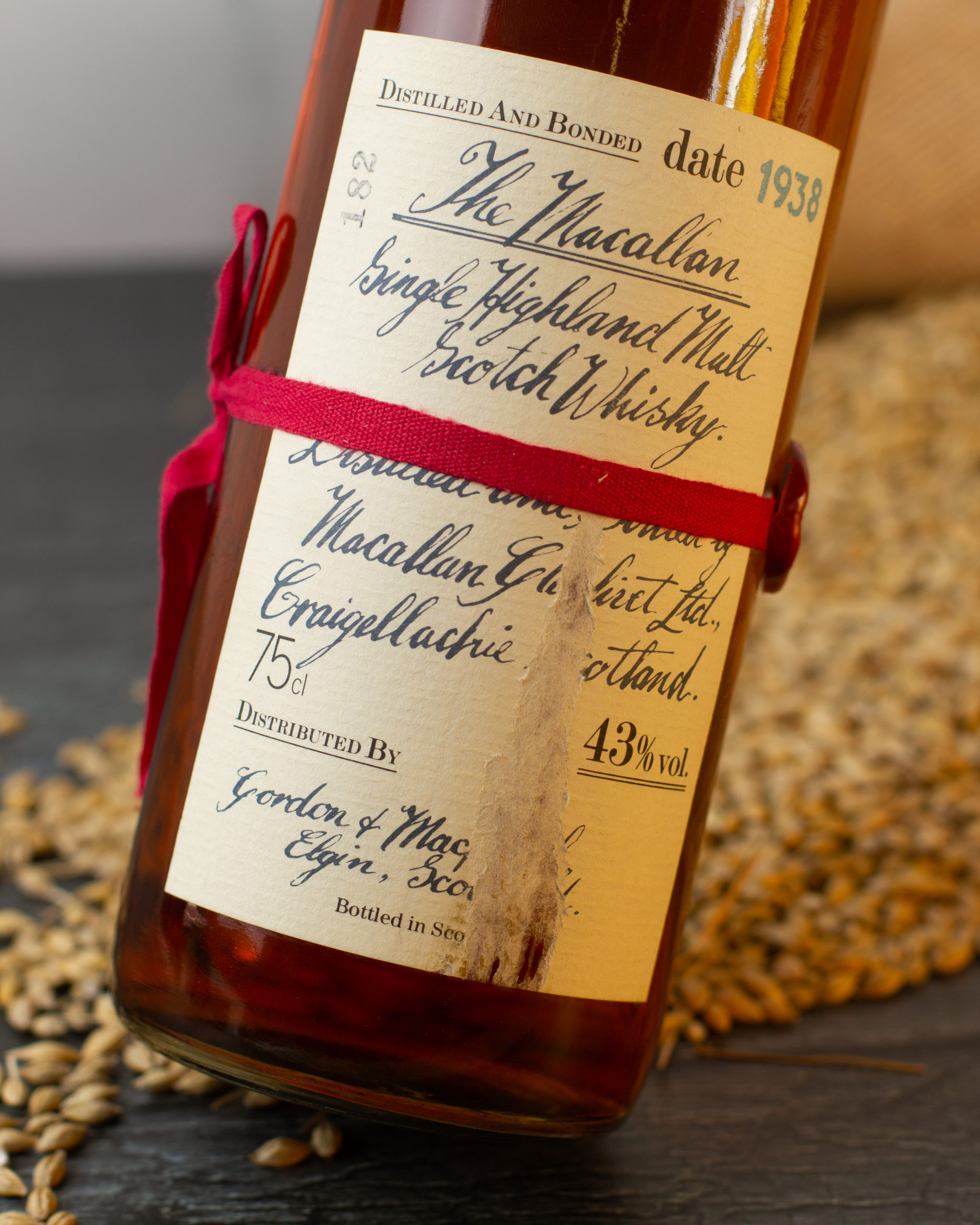 Macallan 1938 Hand Writted (3)