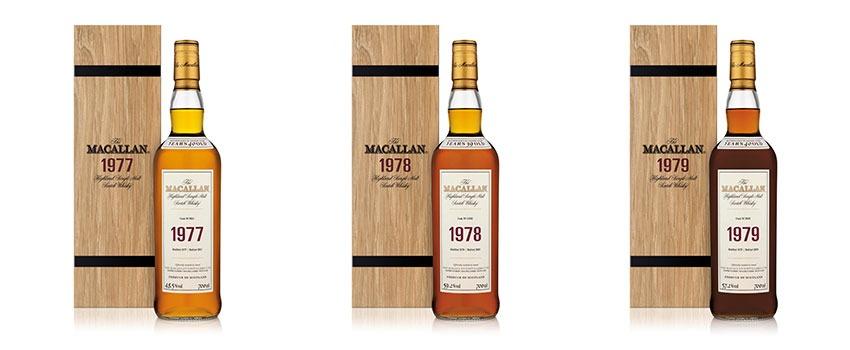 Macallan Fine & Rare 3 Bottle Collection