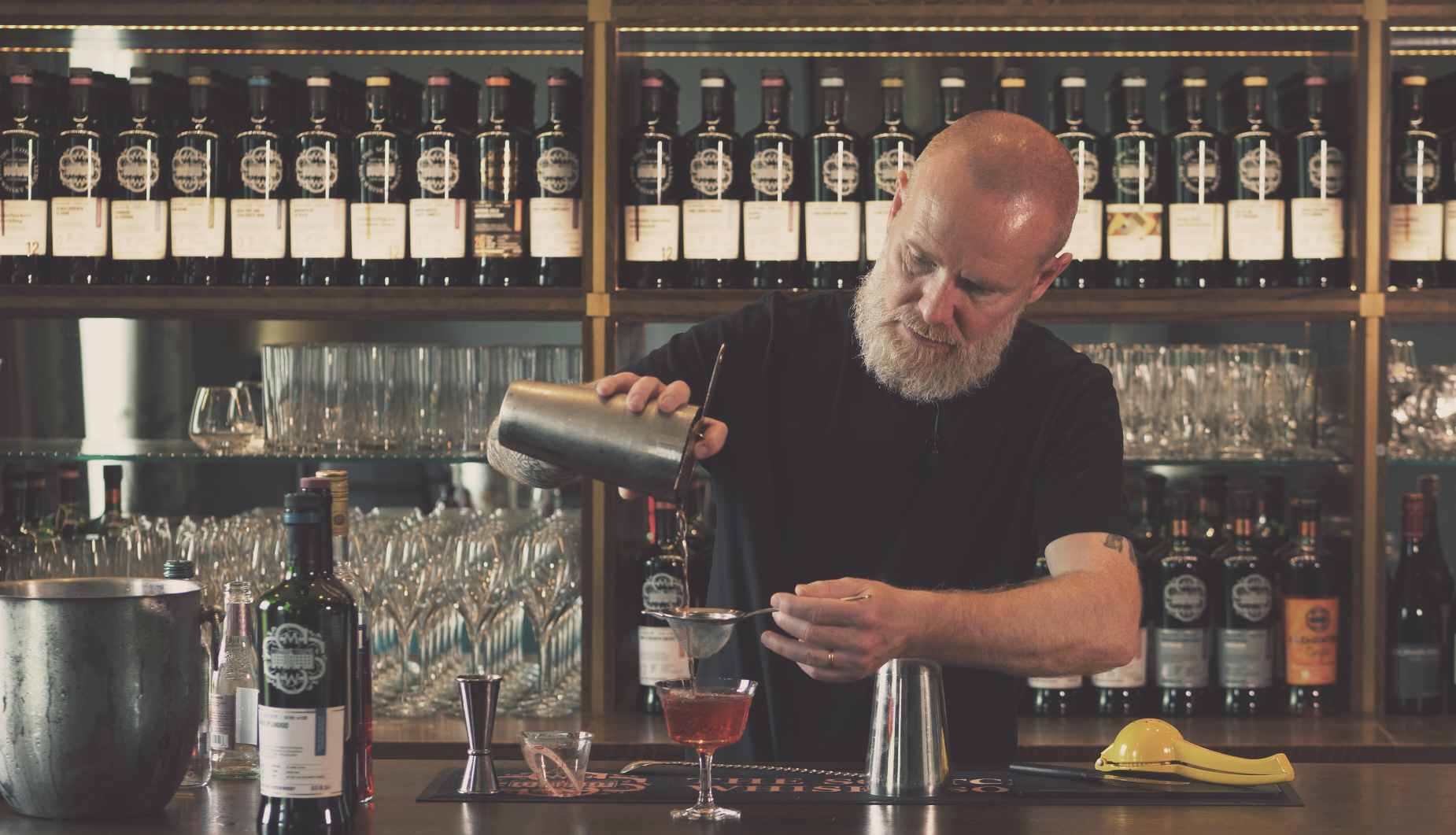 Jason Scott is a world renowned mixologist. Image courtesy of SMWS.