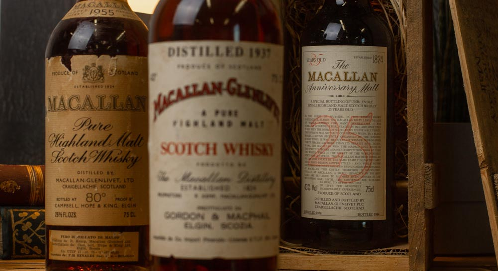 Macallan 1937 1955 and 1958 (1)