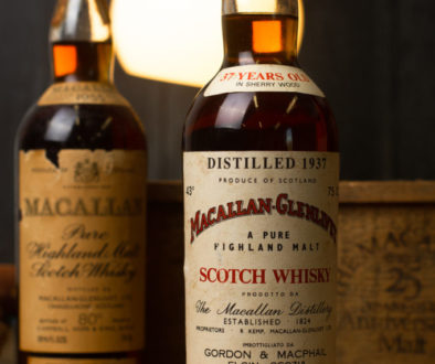 Selling whisky at auction
