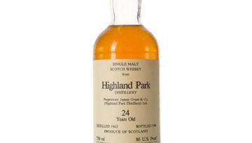 highland park 24yr 2