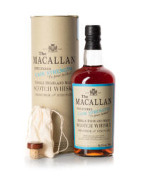 Macallan 1989 Exceptional Cask